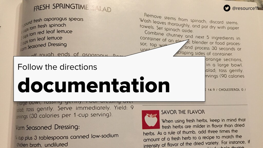 @resource11 Follow the directions documentation...