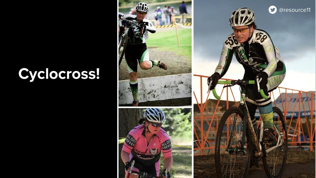 Cyclocross! @resource11