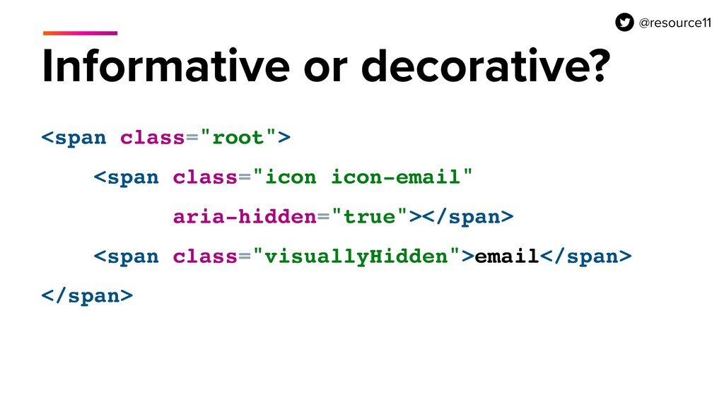 """Informative or decorative? <span class=""""root"""">..."""