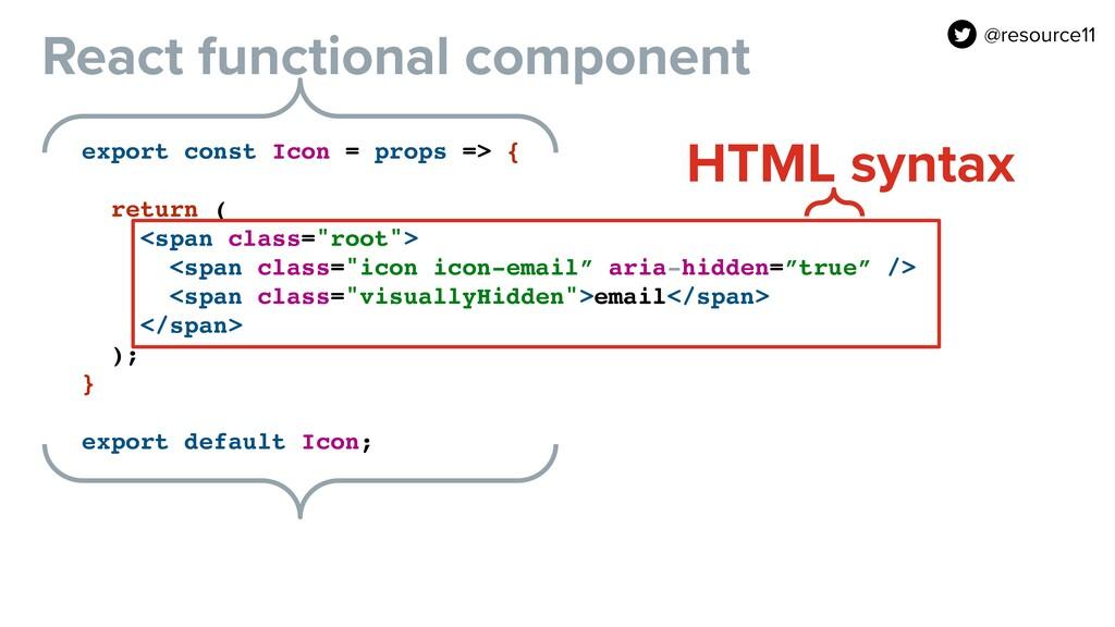 export const Icon = props => {  return ( <spa...