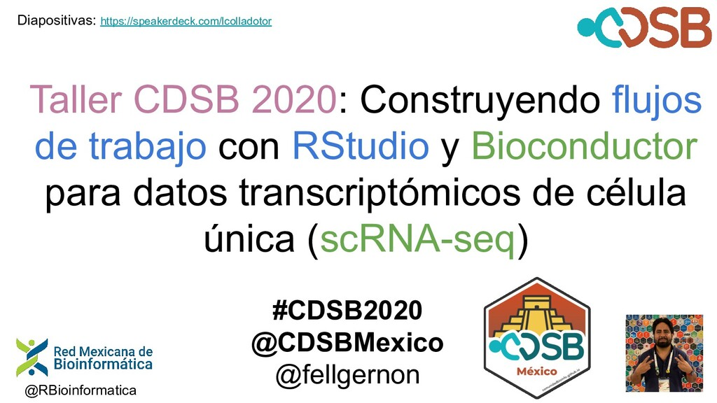 Taller CDSB 2020: Construyendo flujos de trabaj...