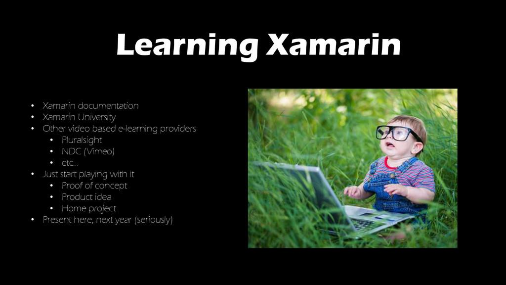 Learning Xamarin • Xamarin documentation • Xama...