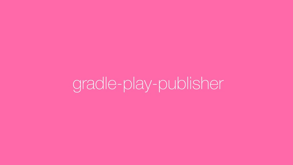 gradle-play-publisher