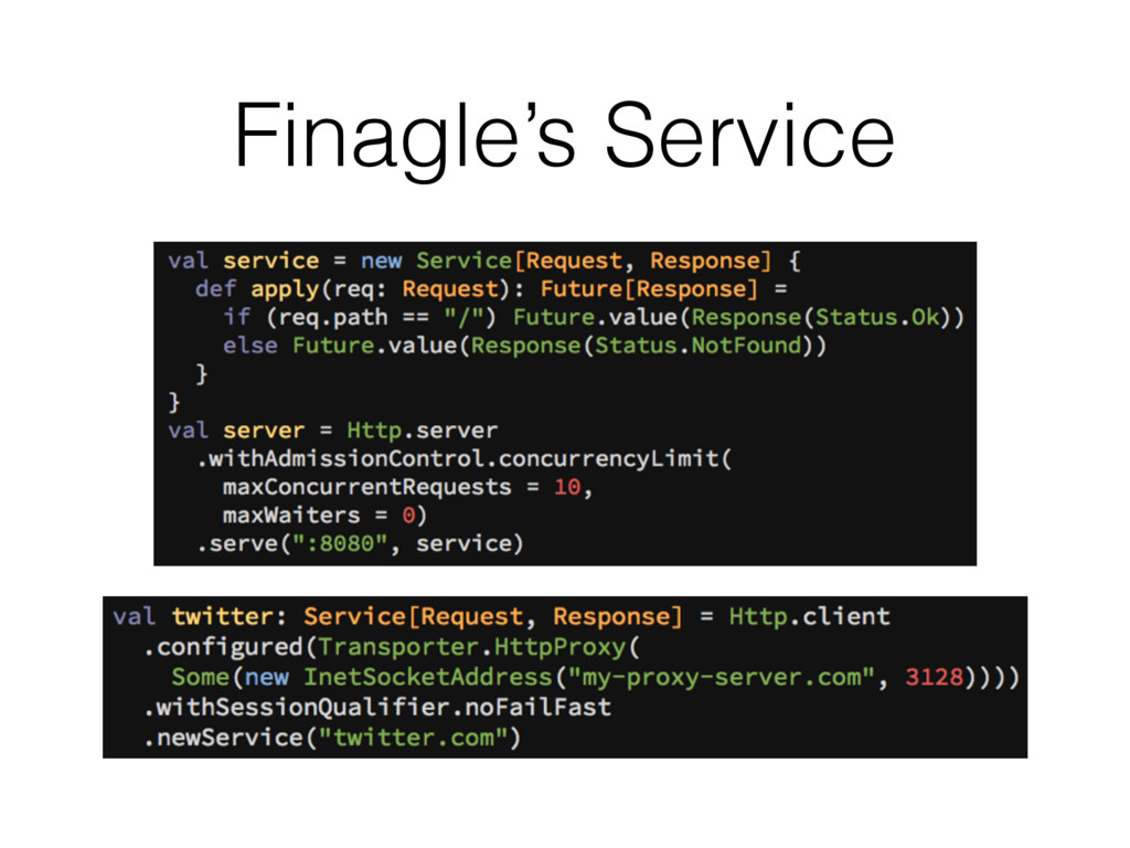 Finagle's Service