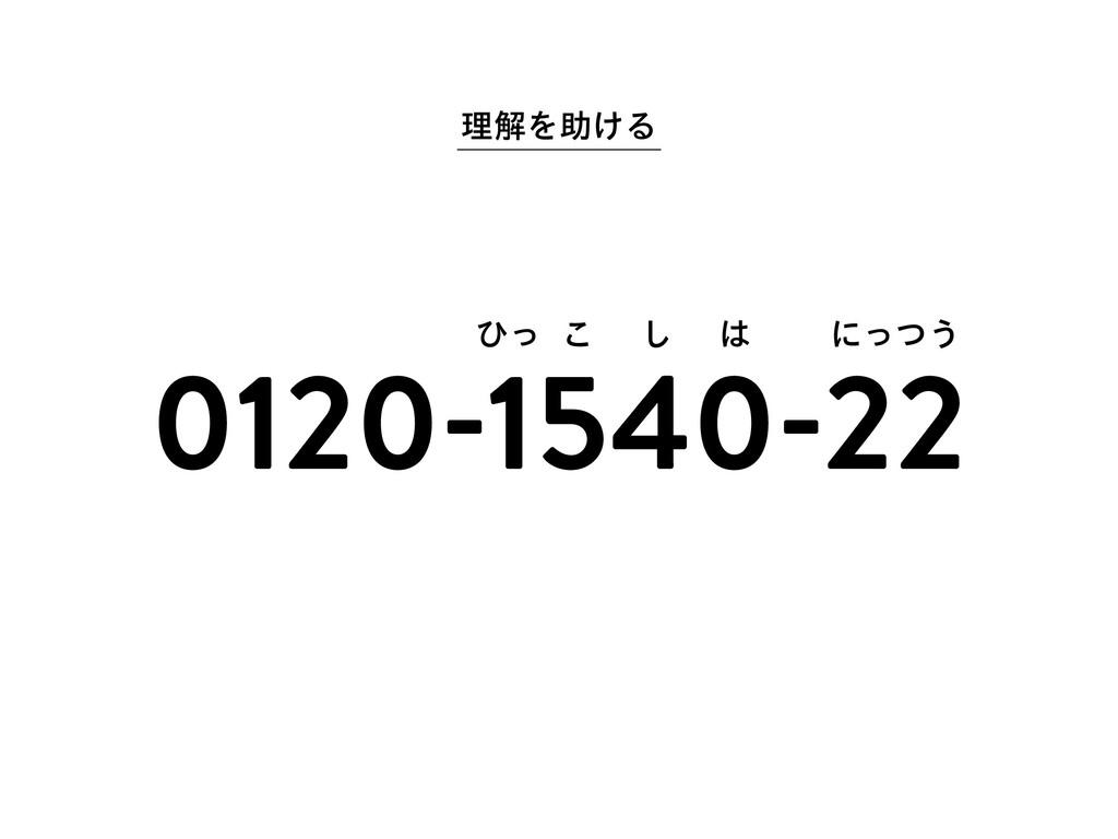 ཧղΛॿ͚Δ 0120-1540-22 ͻͬ ͜ ͠  ʹͬͭ͏