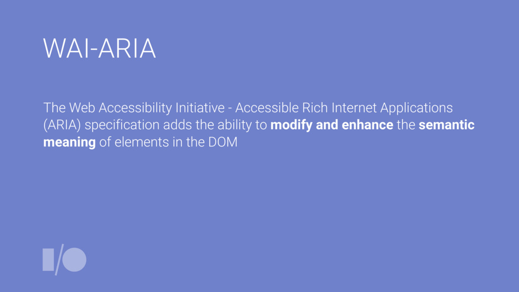 WAI-ARIA The Web Accessibility Initiative - Acc...