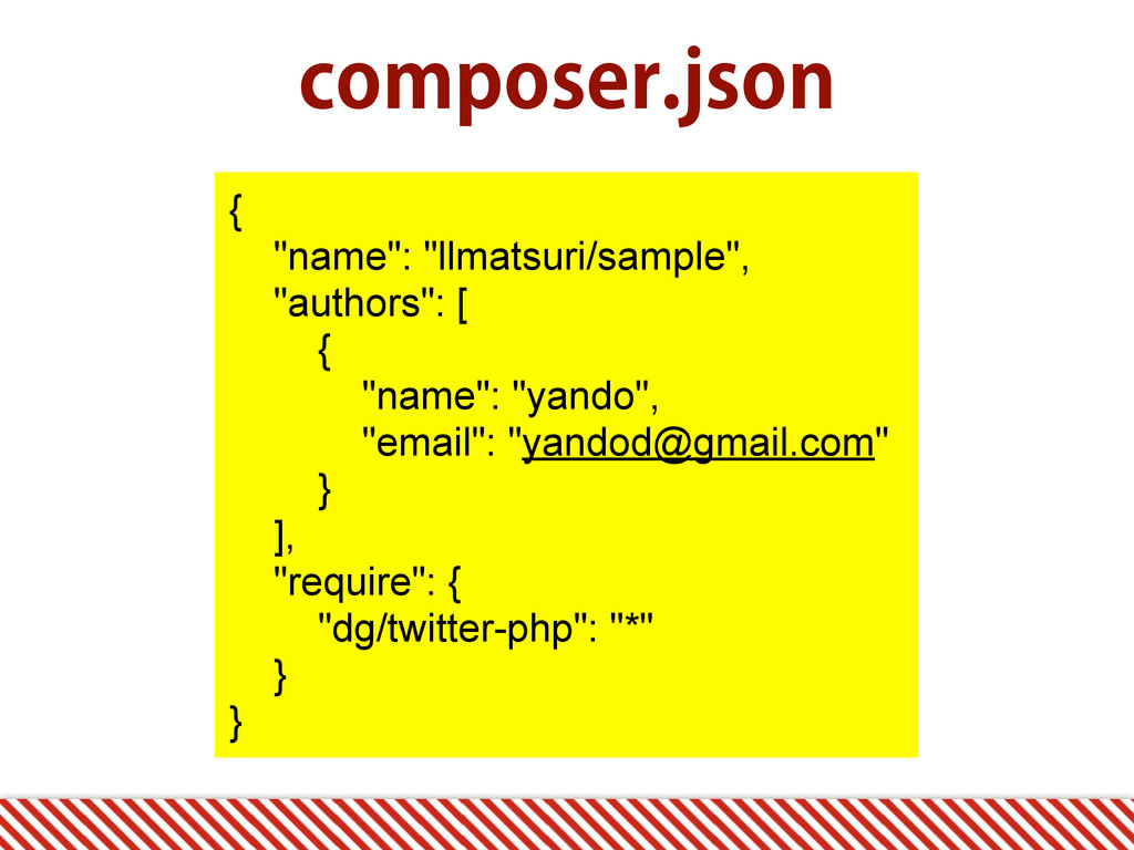 "DPNQPTFSKTPO { ""name"": ""llmatsuri/sample"", ""au..."