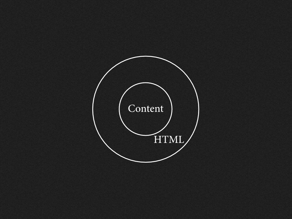 Content HTML