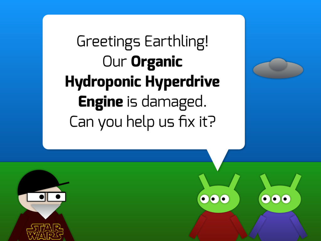 Greetings Earthling! Our Organic Hydroponic Hyp...