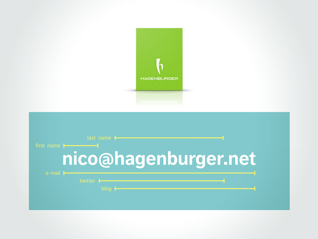 nico@hagenburger.net e-mail twitter blog first ...