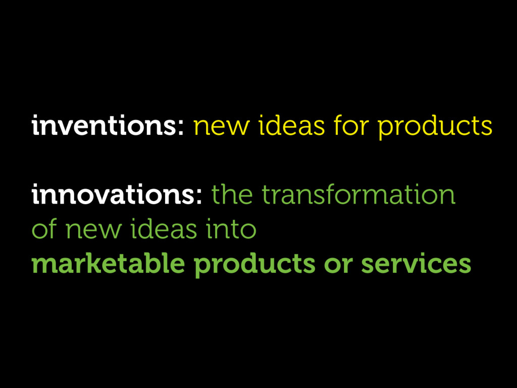 inventions: new ideas for products innovations:...