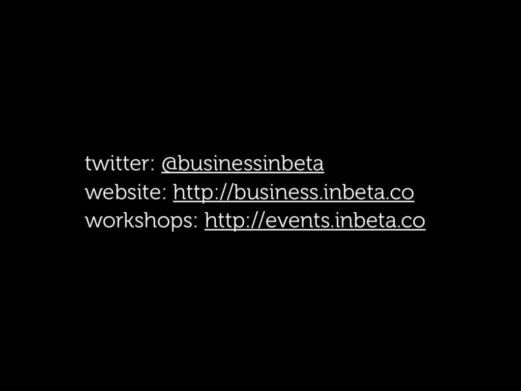 twitter: @businessinbeta website: http://busine...