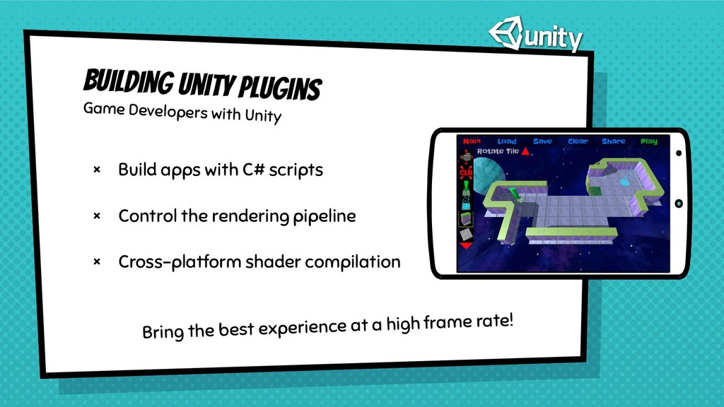 Building Unity plugins Game Developers with Uni...