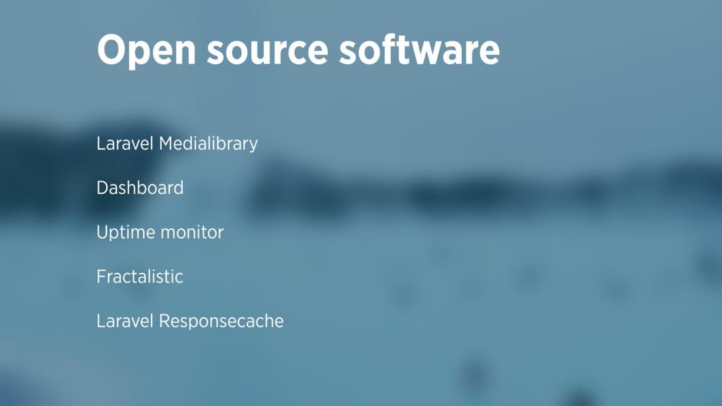 Laravel Medialibrary Dashboard Uptime monitor F...