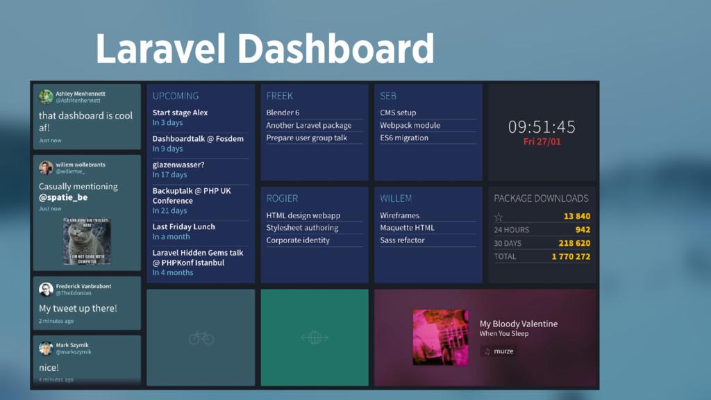 Laravel Dashboard