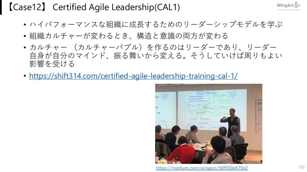 【Case12】 Certified Agile Leadership(CAL1) • ハイパ...