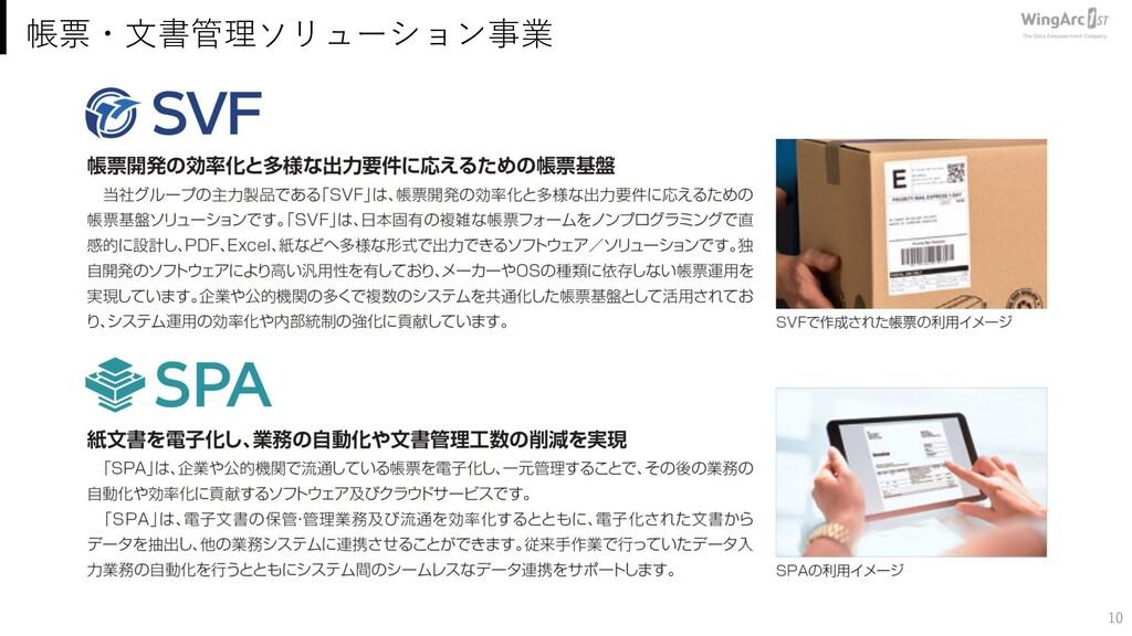 10 帳票・⽂書管理ソリューション事業