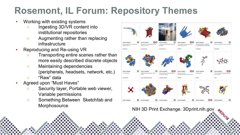 Rosemont, IL Forum: Repository Themes ▪ Working...