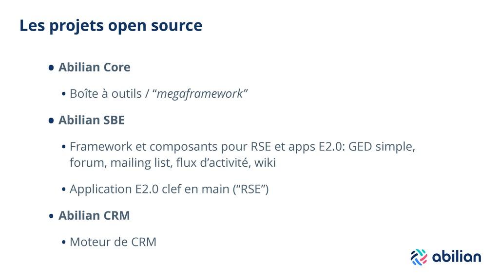 Les projets open source • Abilian Core • Boîte ...