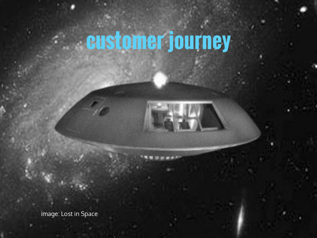customer journey image: Lost in Space