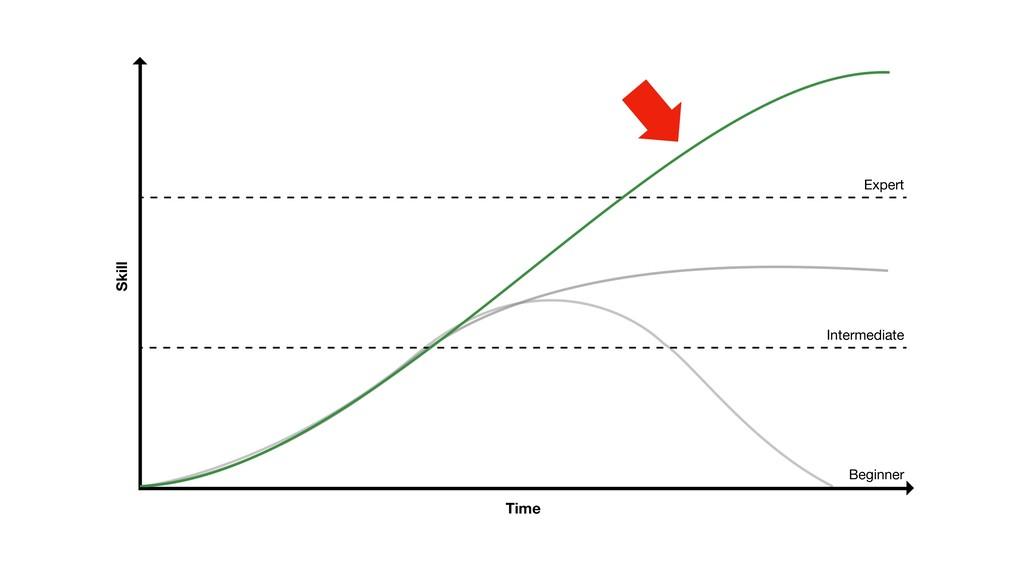 Skill Time Beginner Intermediate Expert