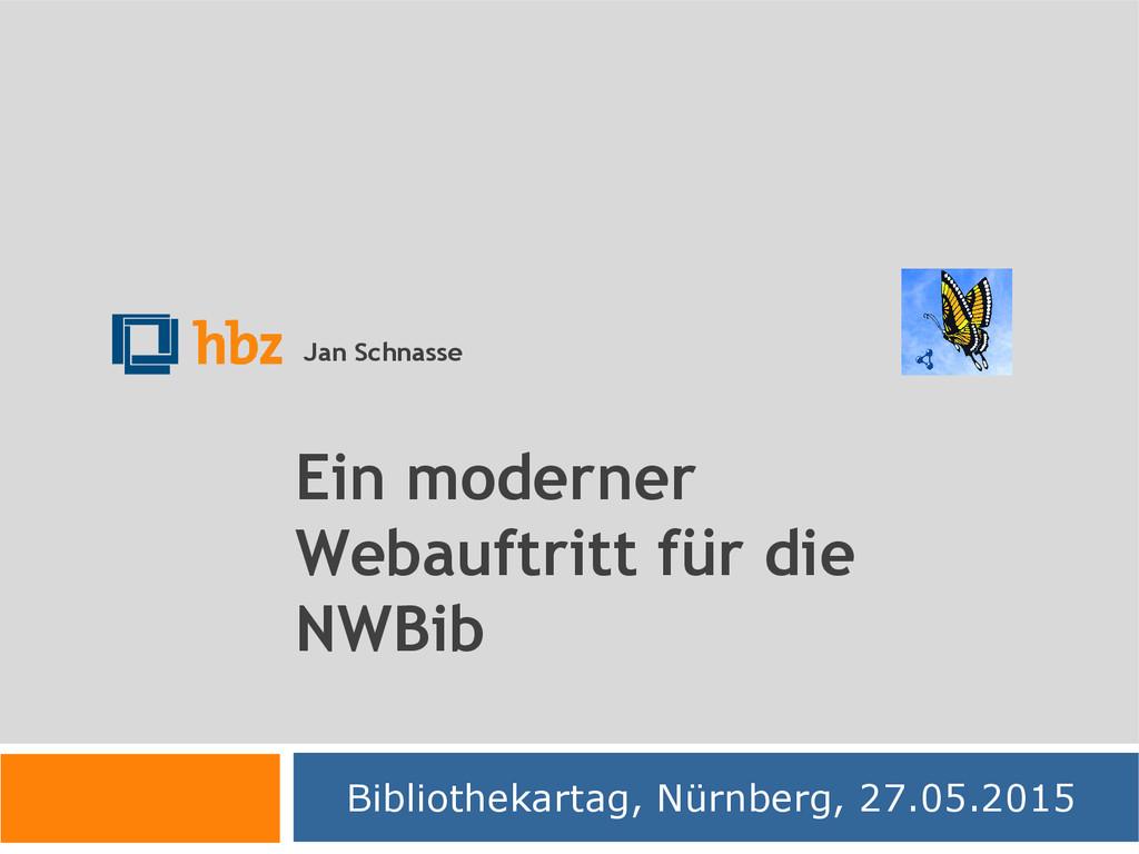 Ein moderner Webauftritt für die NWBib Biblioth...