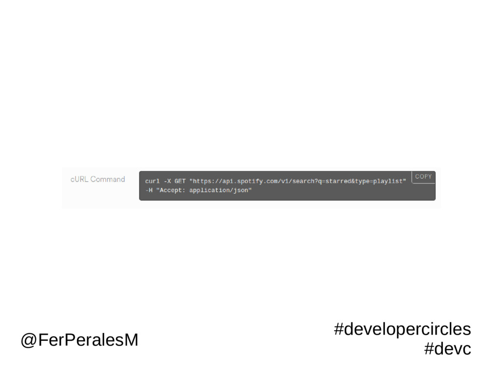 #developercircles #devc @FerPeralesM