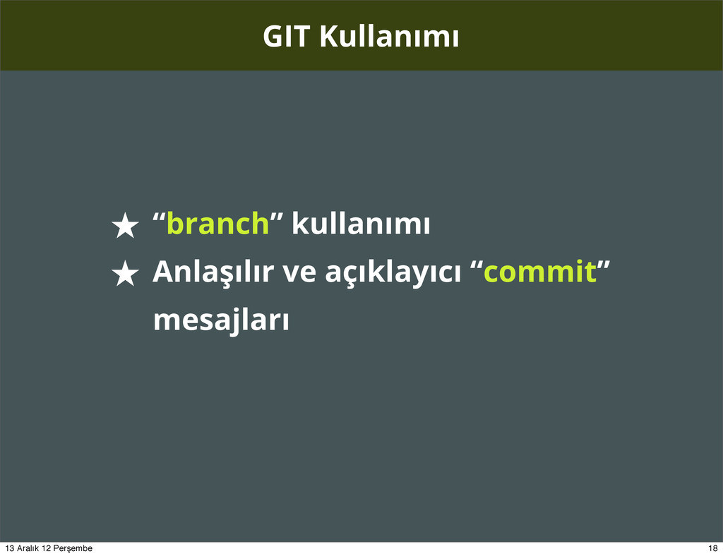 """GIT Kullanımı ★ """"branch"""" kullanımı ★ Anlaşılır ..."""