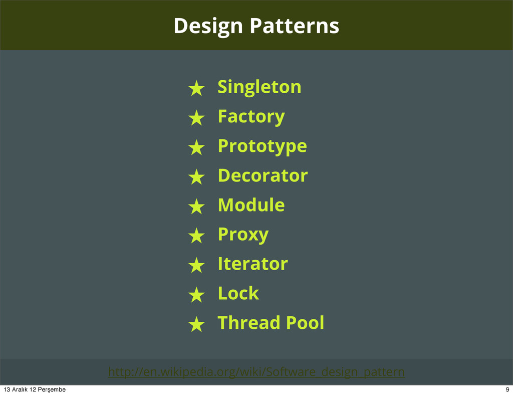 Design Patterns ★ Singleton ★ Factory ★ Prototy...