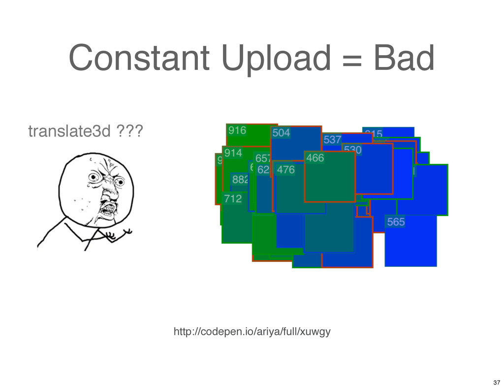Constant Upload = Bad http://codepen.io/ariya/f...