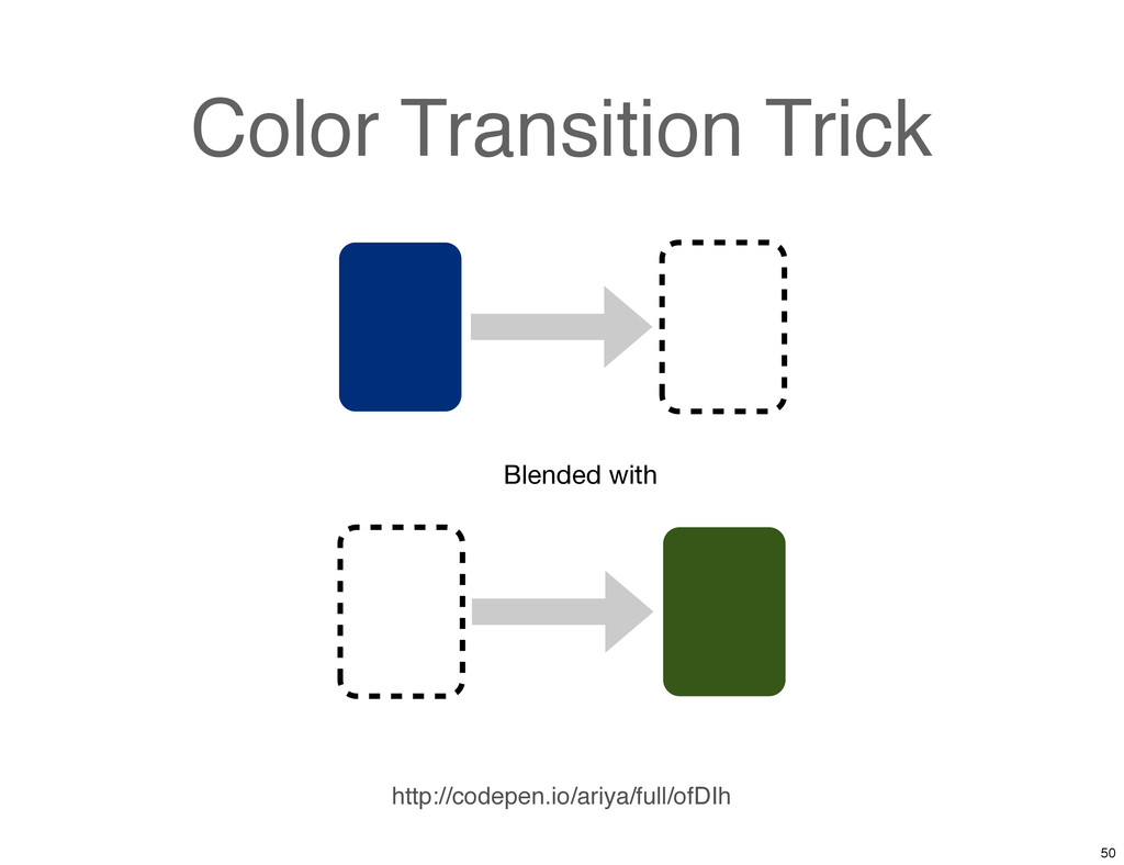 Color Transition Trick Blended with http://code...