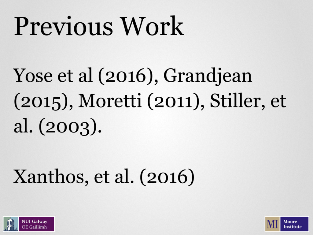 Yose et al (2016), Grandjean (2015), Moretti (2...