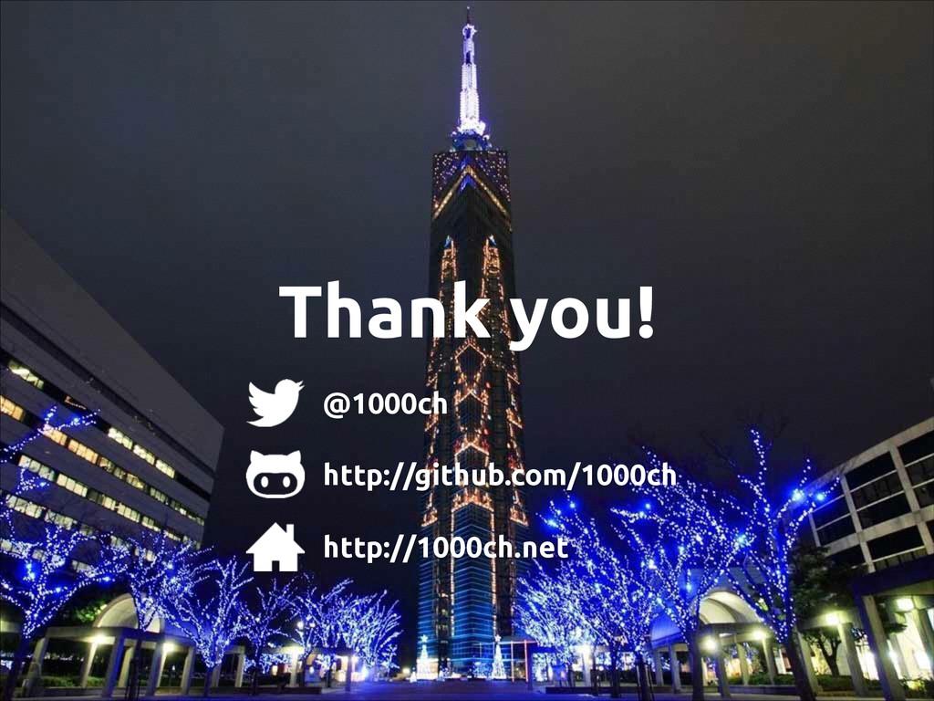Thank you! @1000ch http://github.com/1000ch htt...