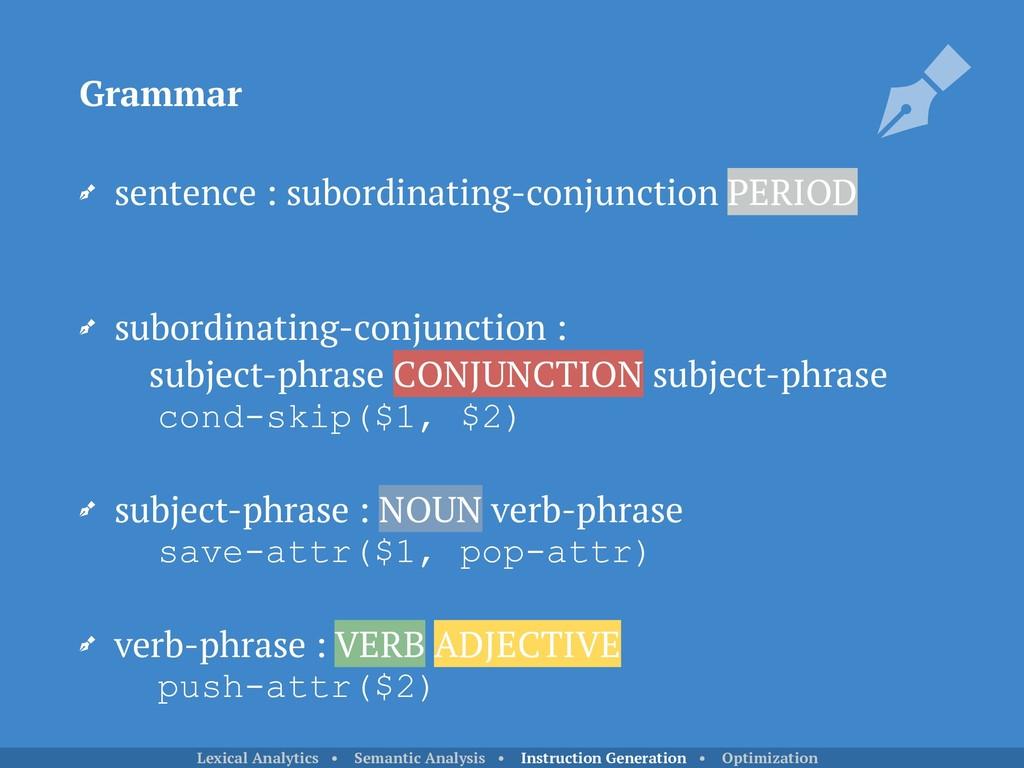 sentence : subordinating-conjunction PERIOD su...