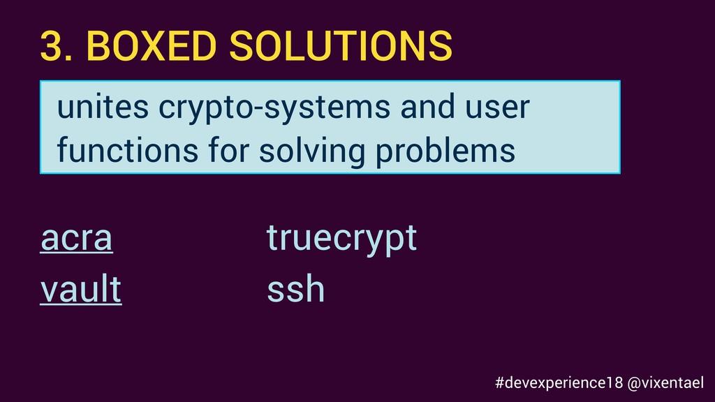 3. BOXED SOLUTIONS truecrypt ssh acra vault uni...