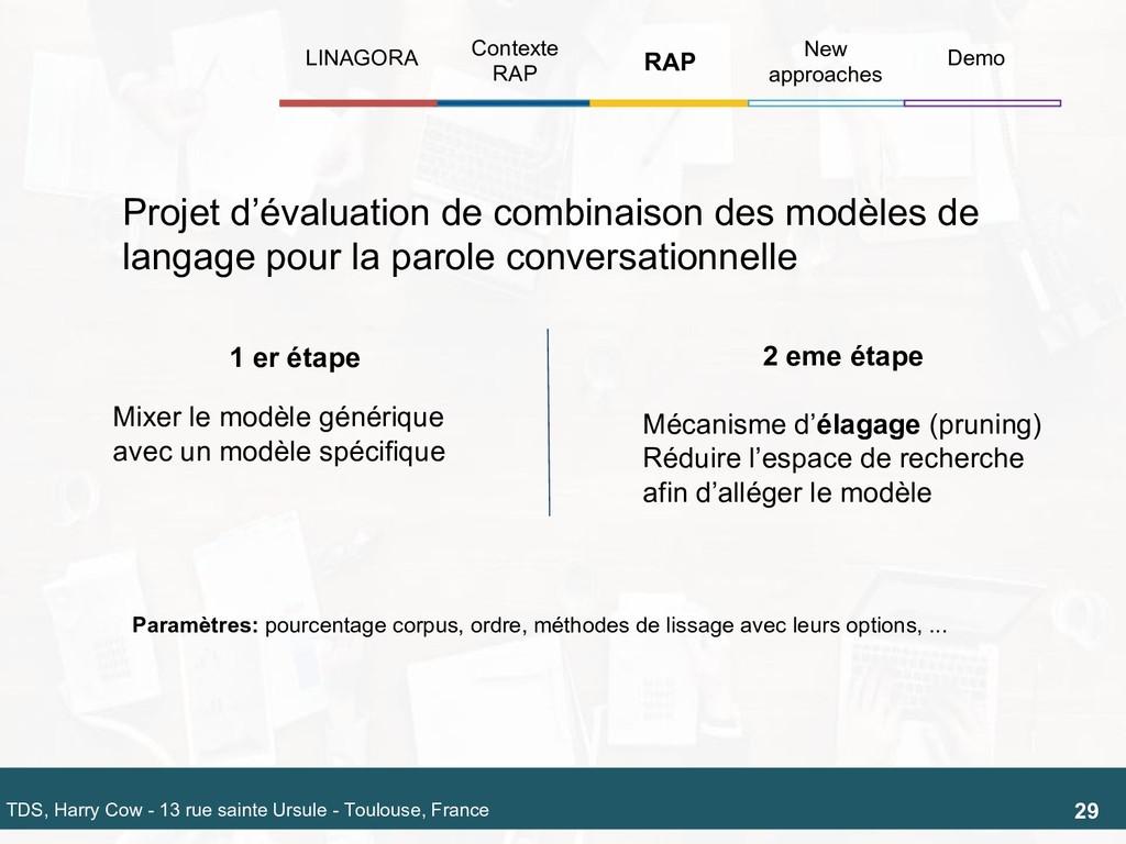 Projet d'évaluation de combinaison des modèles ...
