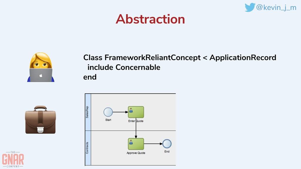 @kevin_j_m Abstraction Class FrameworkReliantCo...