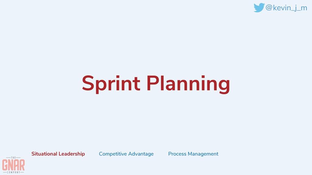 @kevin_j_m Sprint Planning Situational Leadersh...