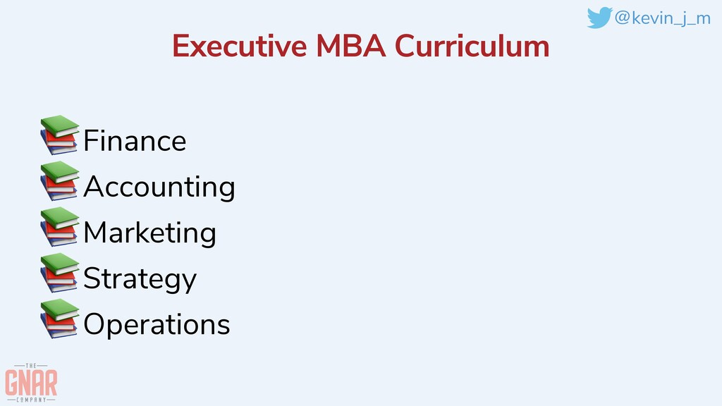 @kevin_j_m Executive MBA Curriculum 📚Finance   ...
