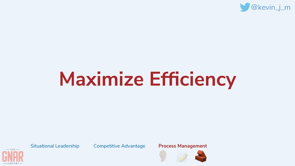 @kevin_j_m Maximize Ef fi ciency Situational Le...