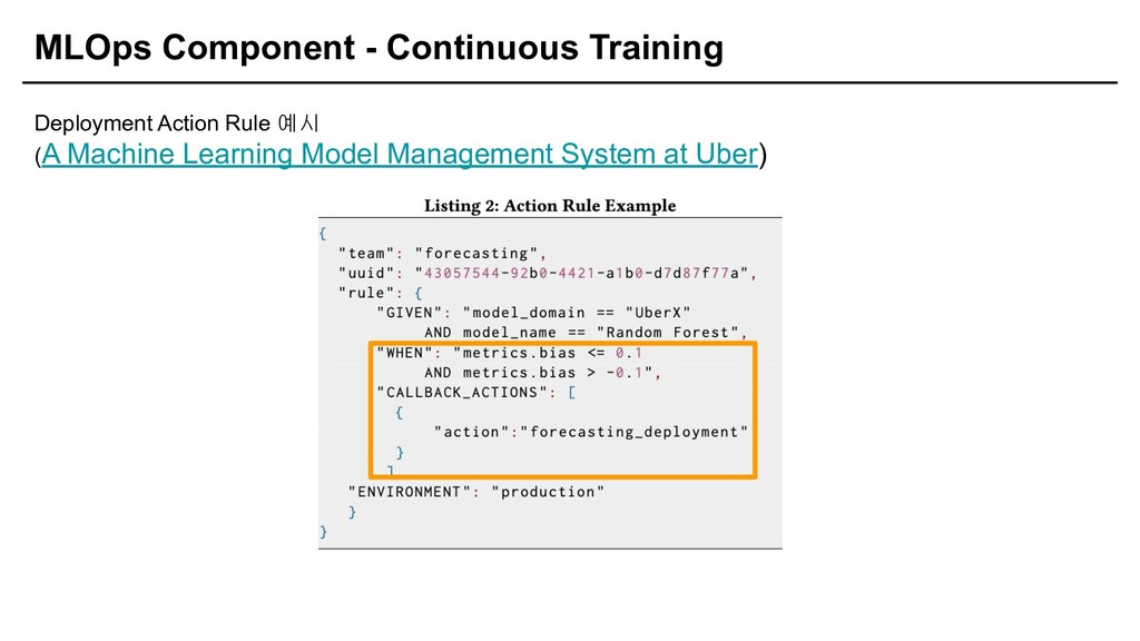 MLOps Component - Continuous Training Deploymen...