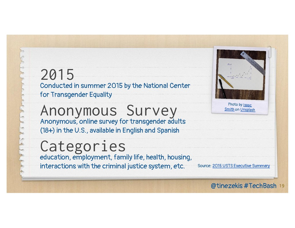 2015 Conducted in summer 2015 by the National C...