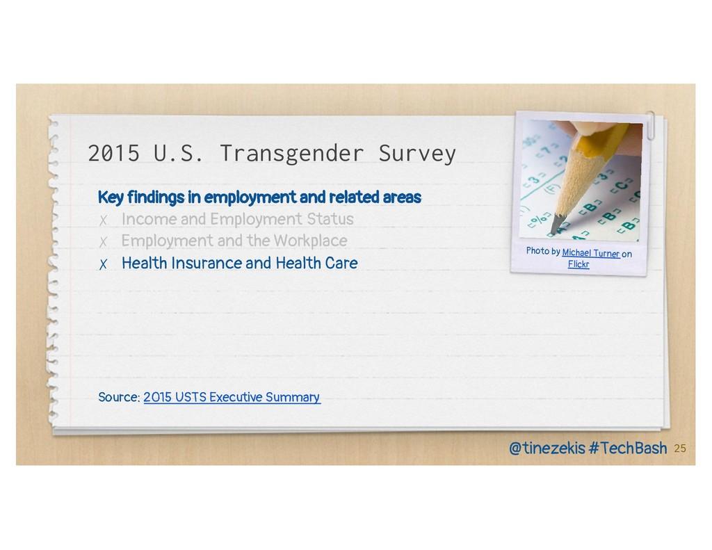 2015 U.S. Transgender Survey Key findings in em...