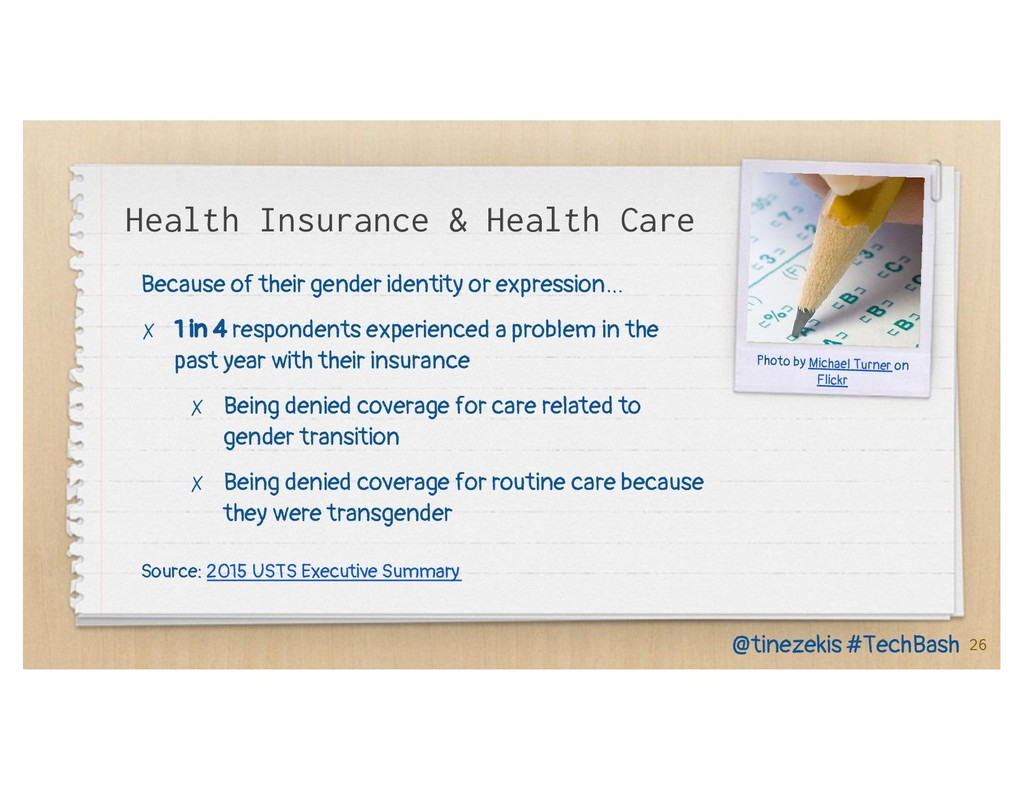 Health Insurance & Health Care Because of their...