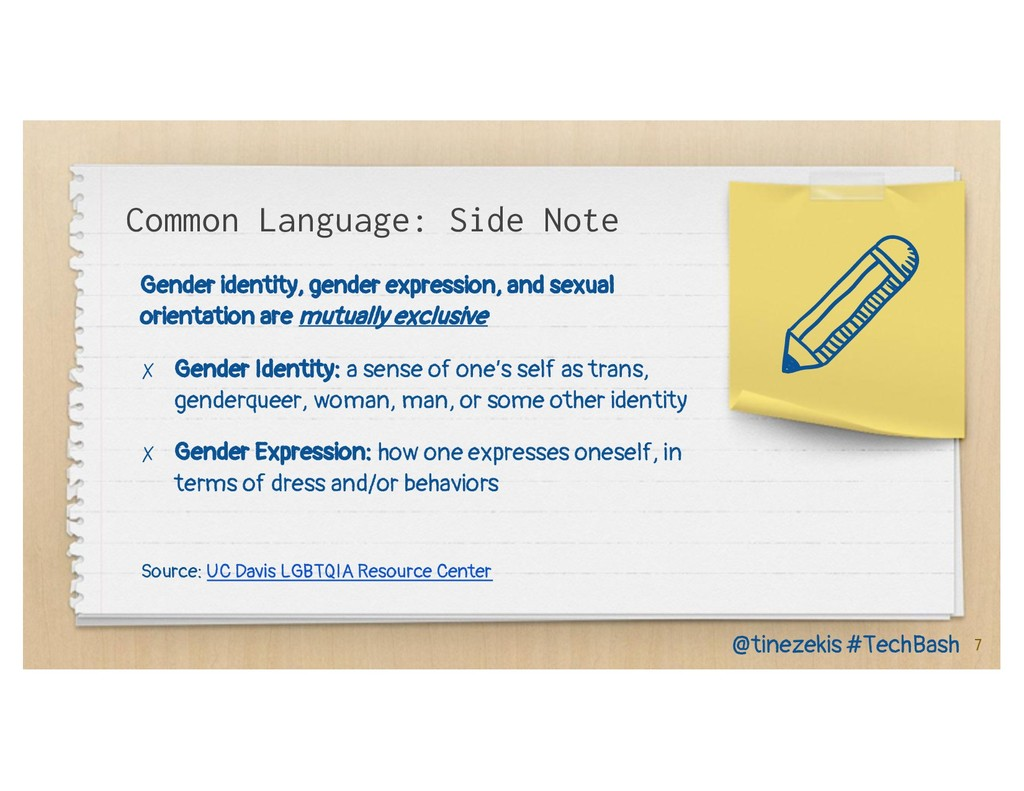 Gender identity, gender expression, and sexual ...