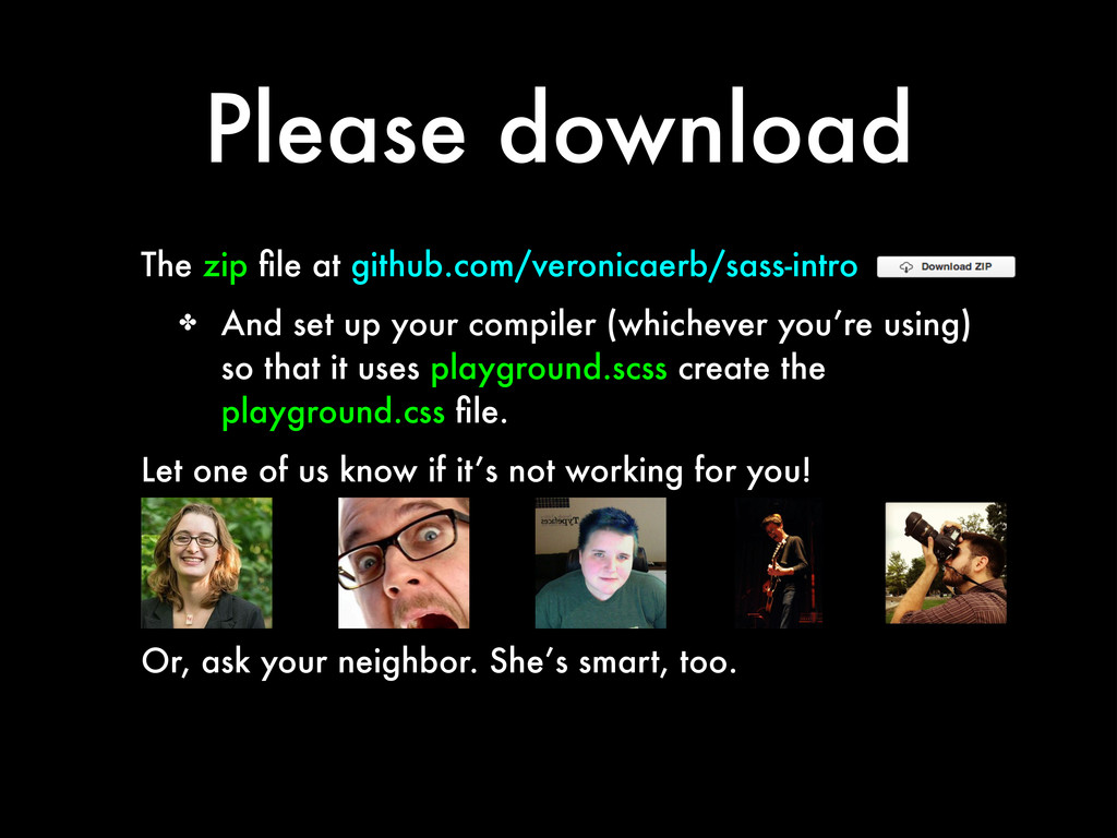 Please download The zip file at github.com/veron...