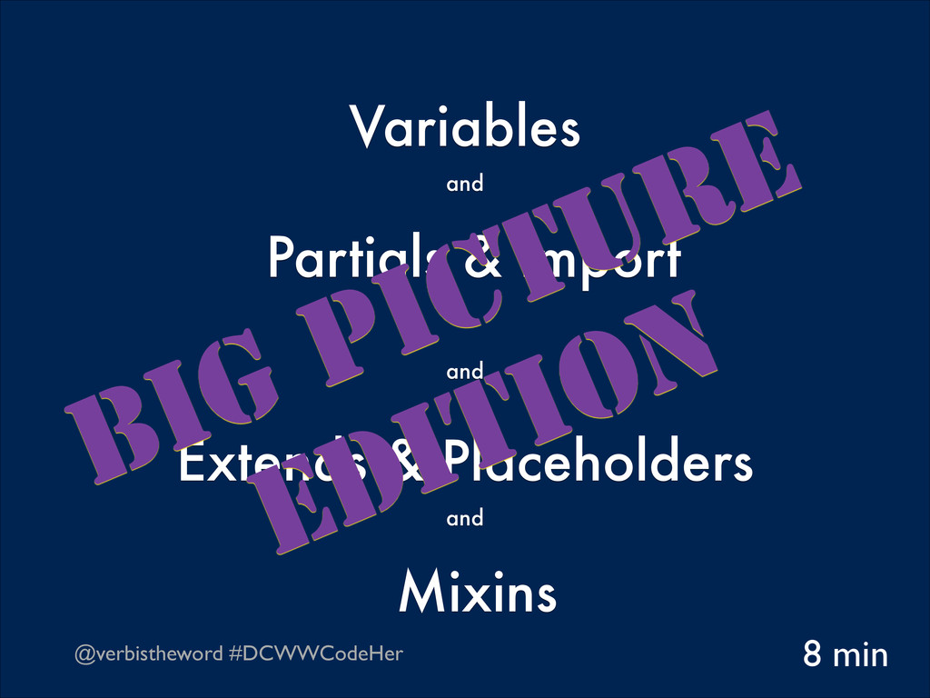 @verbistheword #DCWWCodeHer Variables  and Pa...