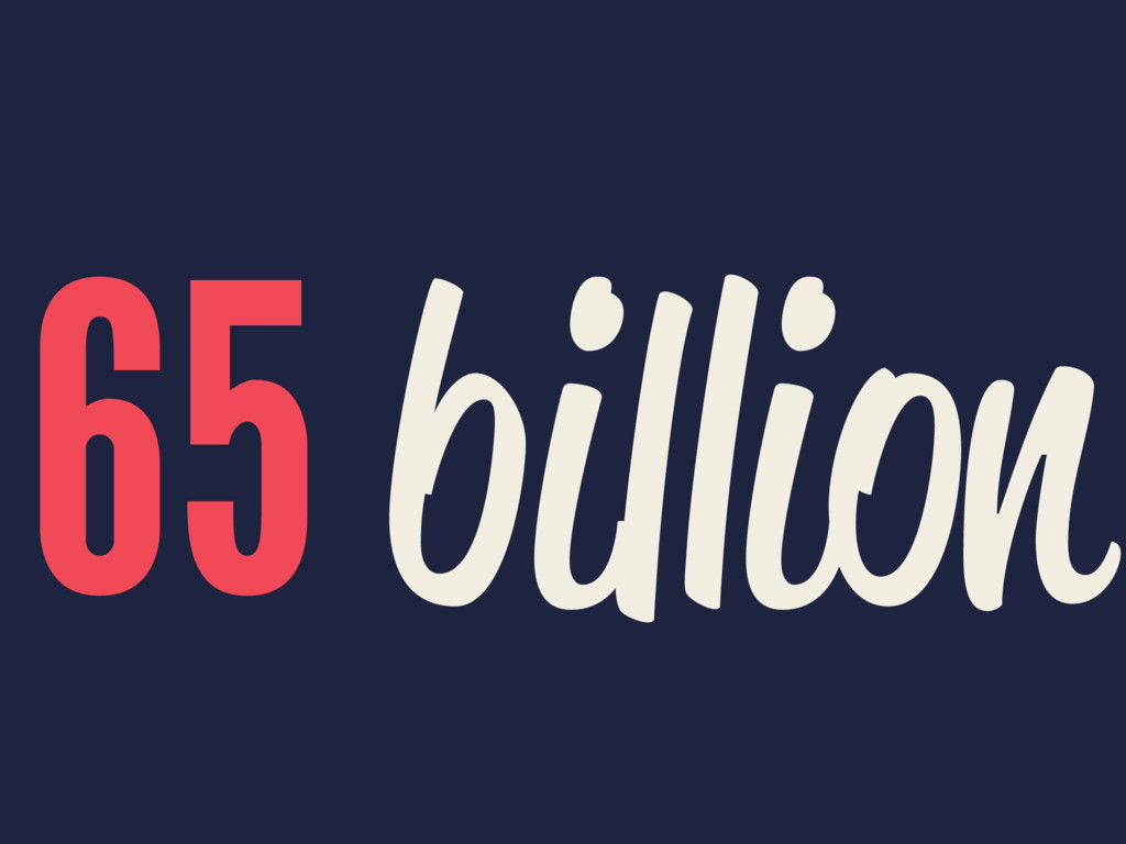 65 billion