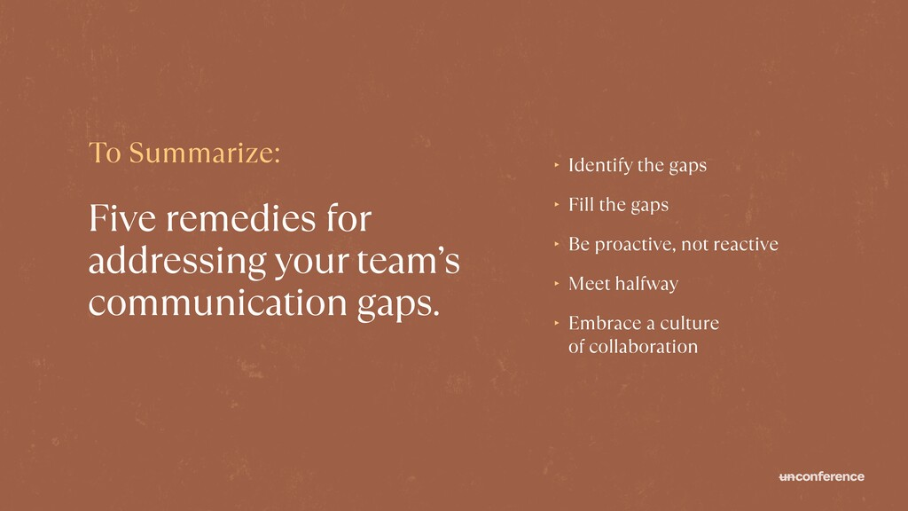 Five remedies for addressing your team's commun...