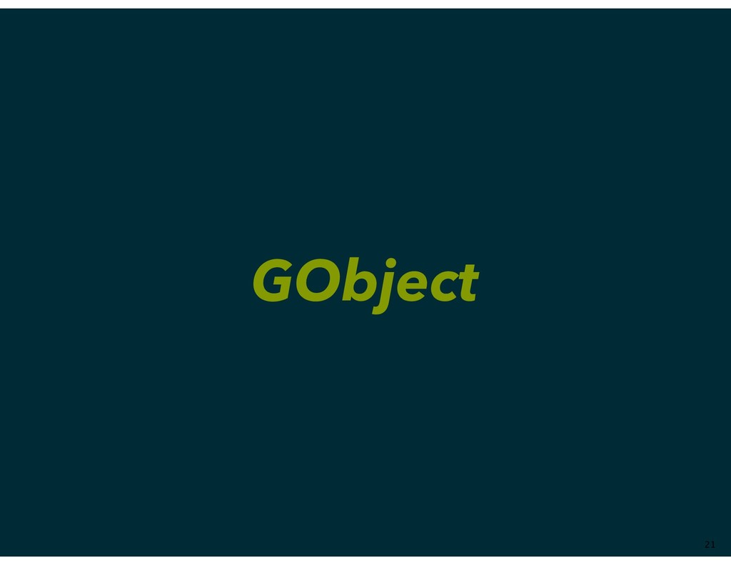 GObject ��